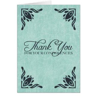 danke für Ihr Beileid Grußkarte