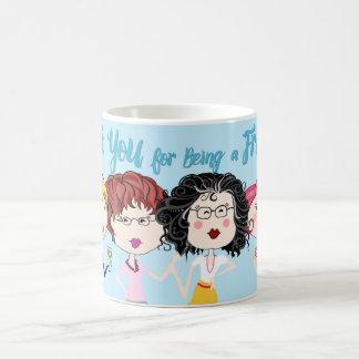 Danke für Sein eine Freund-Kaffee-Tasse Tasse