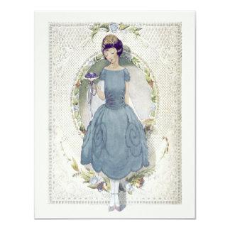 Danke für Sein in unserer Vintagen Hochzeit Karte