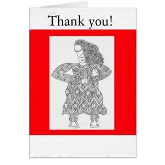 Danke! Grußkarte