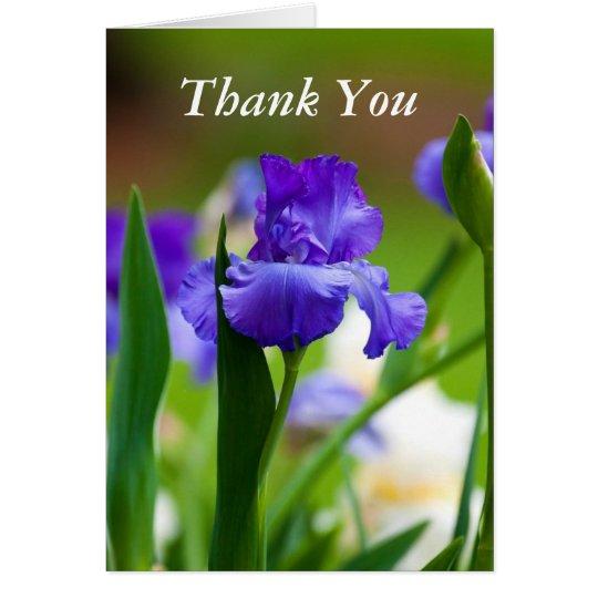 Danke Iris Foto-Gruß-Karte Grußkarte