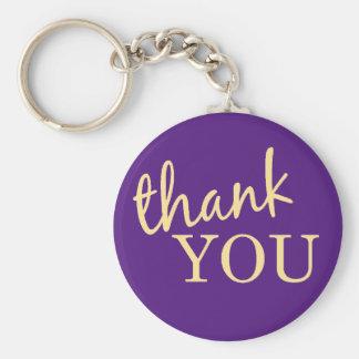 Danke, Keychain zu bevorzugen Schlüsselanhänger