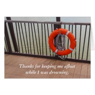 Danke, Leben-Boje, Dankbarkeit Grußkarte