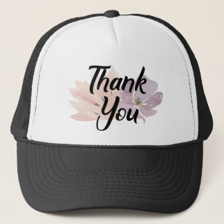 Danke modisches Blumen Truckerkappe