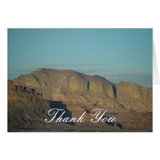 Danke südliche Utah-Fotografie Karte