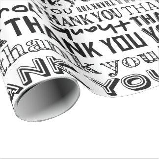 DANKE Typografie-Spezialitäten-Geschenk-Verpackung Einpackpapier