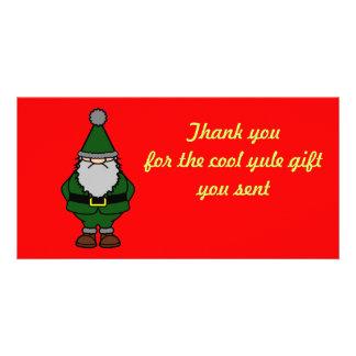 Danke Weihnachten Personalisierte Foto Karte