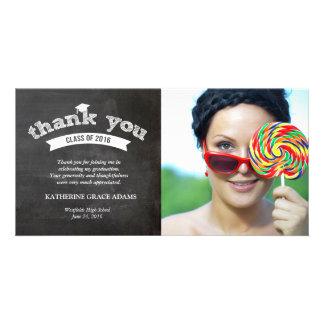 Danken Abschluss-Skizze-Absolvent 2016 Ihnen Personalisierte Photo Karte
