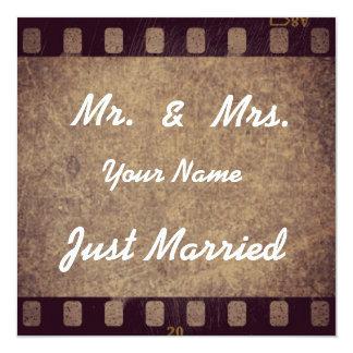 """Dankeskarte """"Just Married"""" Karte"""