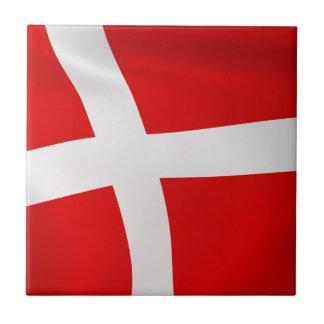 Dannebrog - die dänische Flagge Keramikfliese
