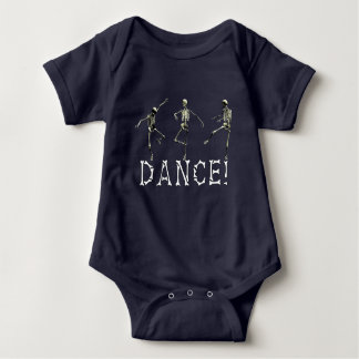 Danse makabere Baby-Kleidung Baby Strampler