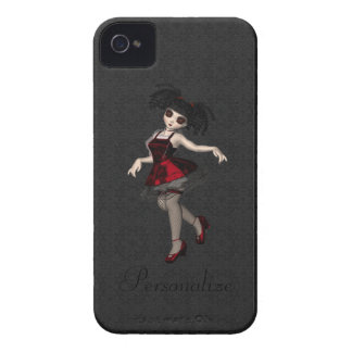 Danse mignonne audacieuse de fille de Blackberry Étuis iPhone 4