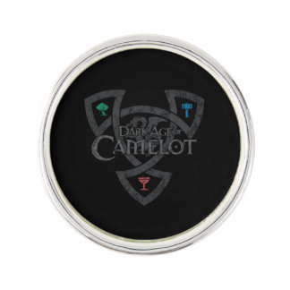DAoC Knoten-Revers-Button Pin