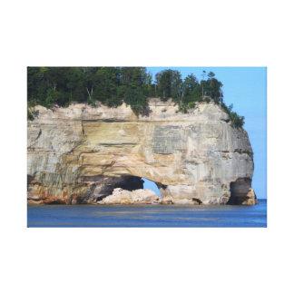 Dargestellte Felsen/eingewickelte Leinwand