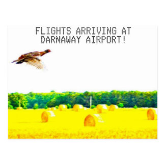 Darnaway Flughafen Postkarte
