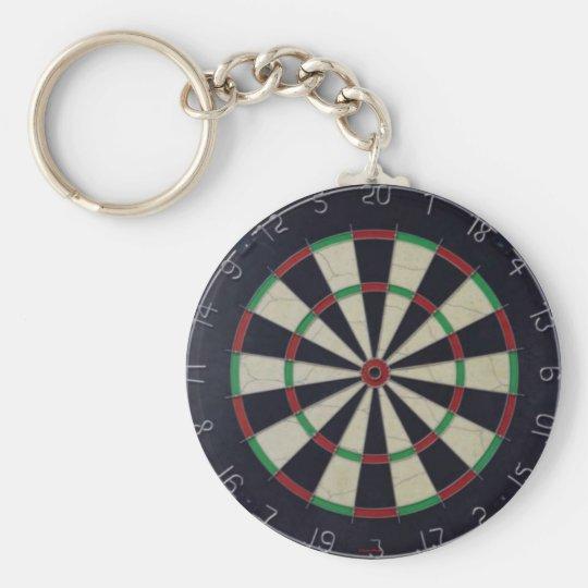 Dartscheibe Keychain Schlüsselanhänger