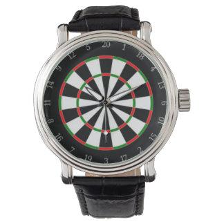 Dartscheibe-Skala-Uhr Armbanduhr