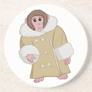 Darwin, den Ikea Monkey Sandstein Untersetzer
