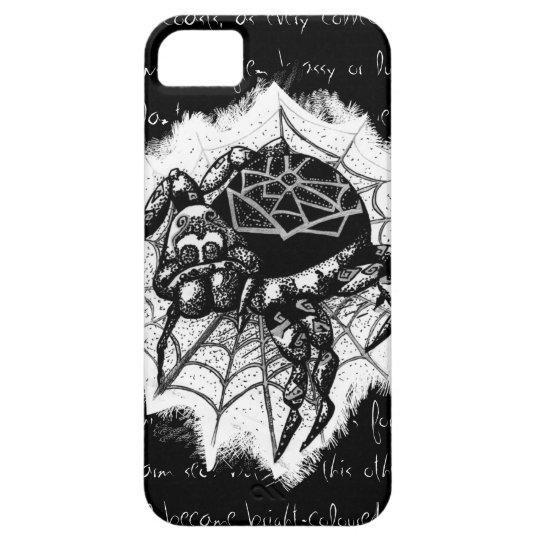 Darwin-Spinnen-Telefon-Kasten iPhone 5 Etui