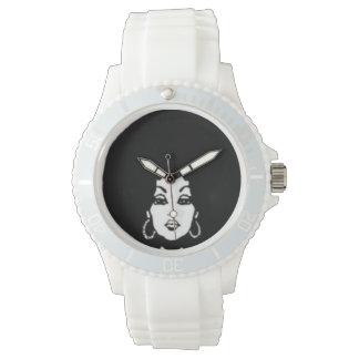 das Afro Armbanduhr