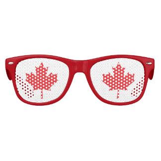 Das Ahornblatt, nationales Sonderzeichen von Kinder Sonnenbrillen