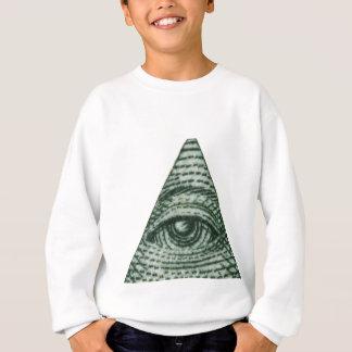 Das alles sehende Auge Sweatshirt