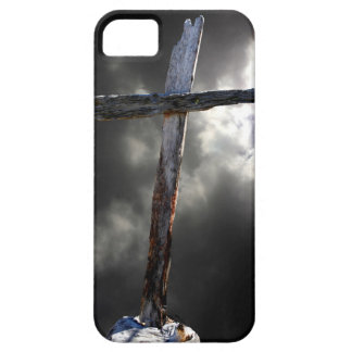 Das alte hölzerne Kreuz Etui Fürs iPhone 5