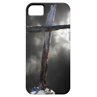 Das alte hölzerne Kreuz Schutzhülle Fürs iPhone 5