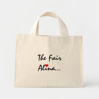 Das angemessene Alina Einkaufstasche