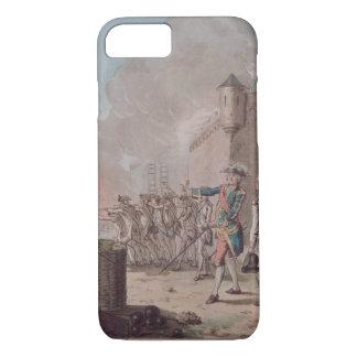 Das Anheben der Belagerung von Pondicherry, 1748, iPhone 8/7 Hülle