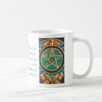 Das As der Pentagramm-Tasse Kaffeetasse