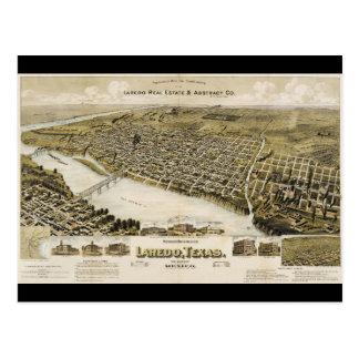 Das Augen-Ansicht des Vogels der Stadt von Laredo Postkarte
