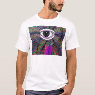 Das Augen-Designer-Kunst-Produkte des Künstlers T-Shirt