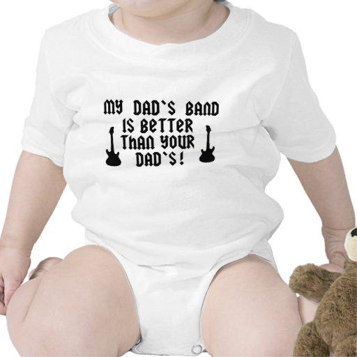 Das Band meines Vatis ist besser als Ihres Vatis Baby Strampler