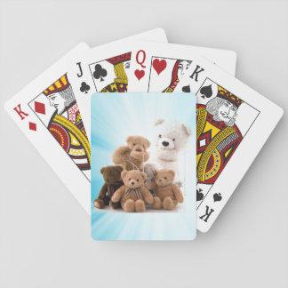 Das Bärn-Familien-Kartenstapele Spielkarten