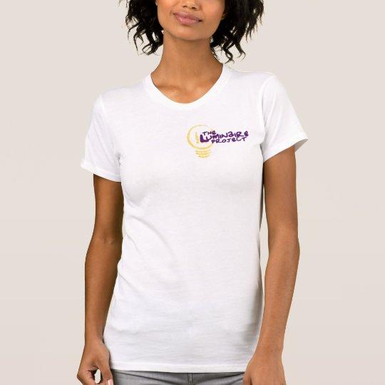 Das Beleuchtungs-Projekt-Logo-T-Stück T-Shirt