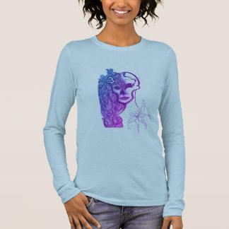 das bella der Frauen, langes Hülsen-Shirt der Langarm T-Shirt