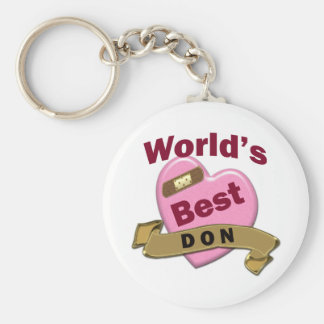 Das beste DON der Welt Schlüsselanhänger