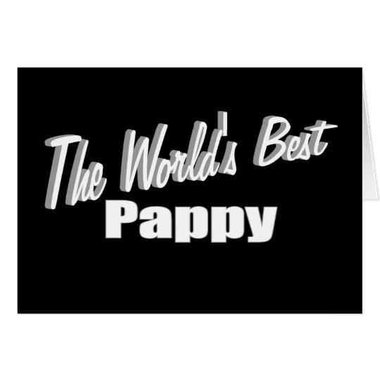 Das beste Pappy der Welt Karte