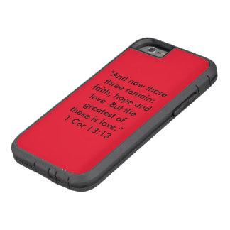 """Das bestste ist Liebe"" Iphone 6/6S Tough Xtreme iPhone 6 Hülle"