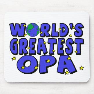 Das bestste Opa der Welt Mauspad