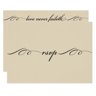 Das bestste von diesen ist Liebe-Wartekarte 8,9 X 12,7 Cm Einladungskarte