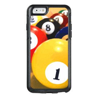 Das Billard-Thema der männlichen Männer OtterBox iPhone 6/6s Hülle