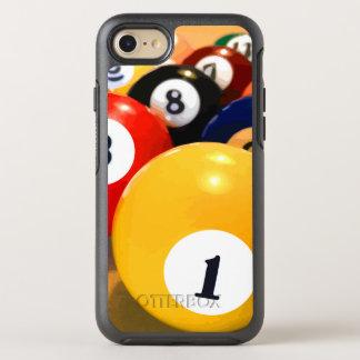 Das Billard-Thema der männlichen Männer OtterBox Symmetry iPhone 7 Hülle
