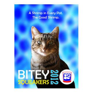 Das Bitey/die Squeakers-Karten- (TM)Postkarte 2 Postkarte