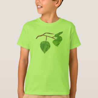 Das Blatt-Baum-Shirt-Jungen-Mädchen des Kindes T-Shirt