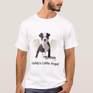 Das Boston-Welpen-T-Shirt des Vatis wenig T-Shirt