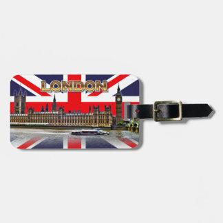 Das britische Parlament Kofferanhänger