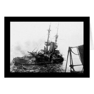 Das britische Schlachtschiff unwiderstehliches Karte