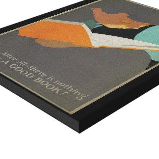 Das Buch-Wochen-Leinwand 1925 Kinder Leinwanddruck